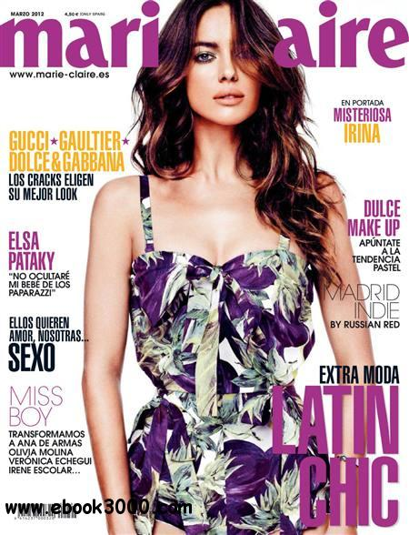 Marie Claire - Marzo 2012 free download