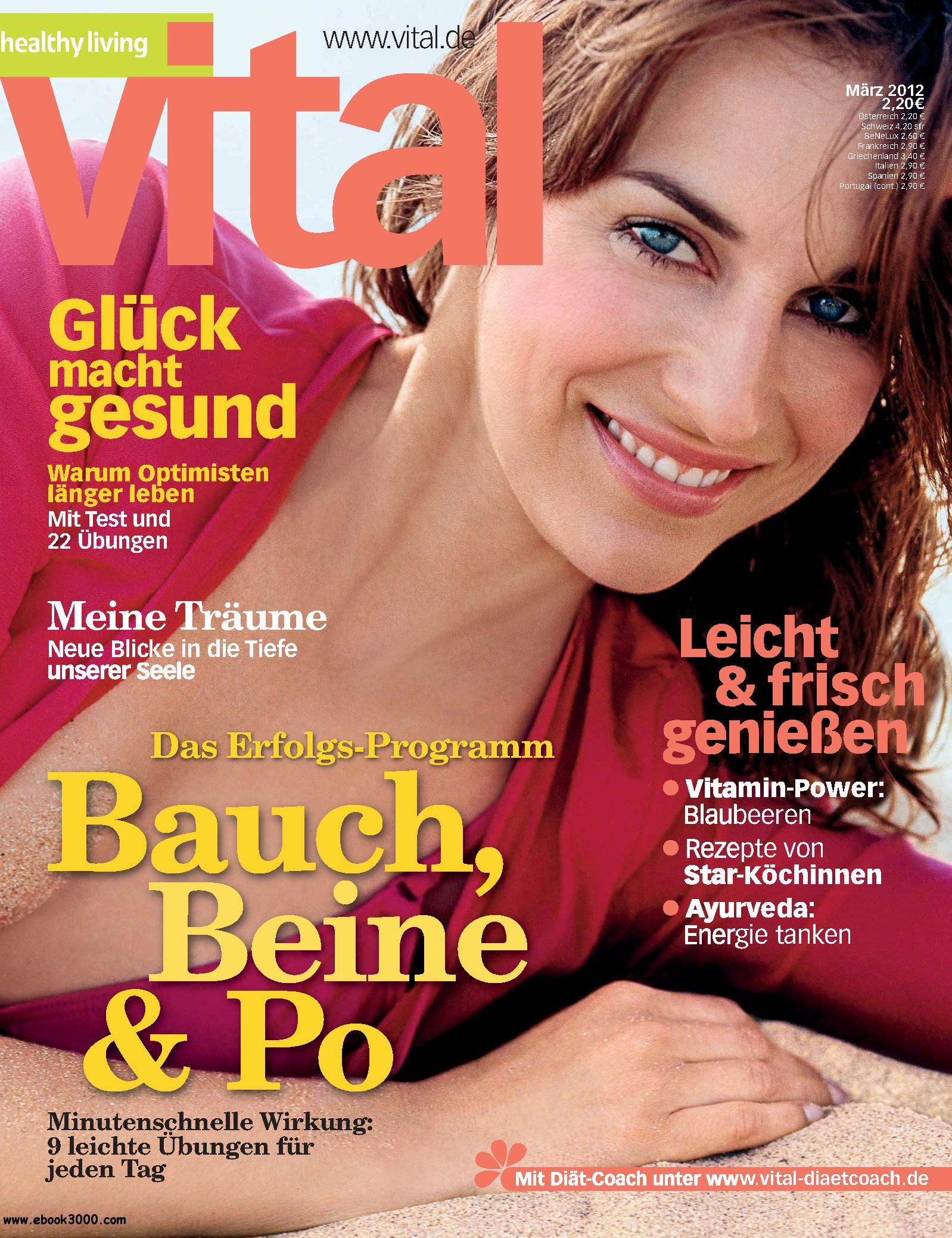 Vital (Wellness-Magazin) Marz 2012 free download
