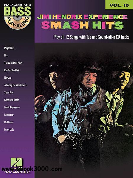 Bass Play-Along Vol. 10 - Jimi Hendrix Smash Hits free download