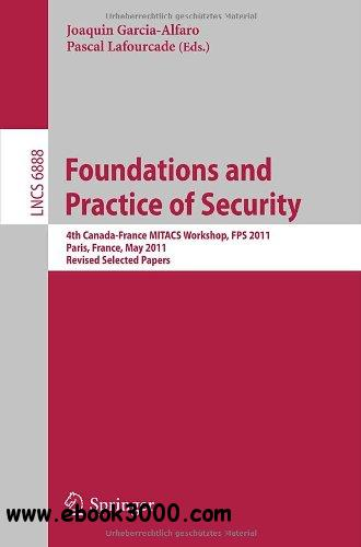 Foundations and Practice of Security free download