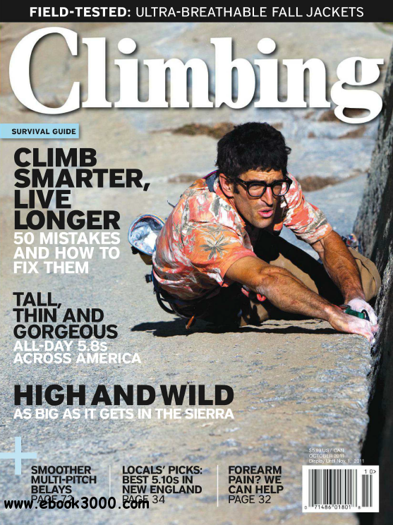 Climbing - October 2011 free download