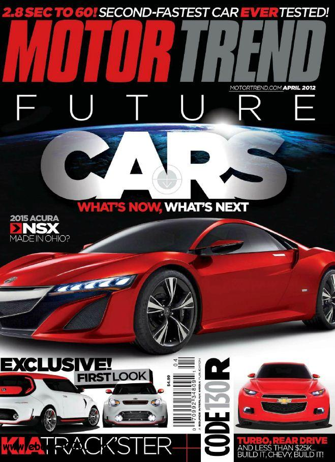 Motor Trend - April 2012 free download