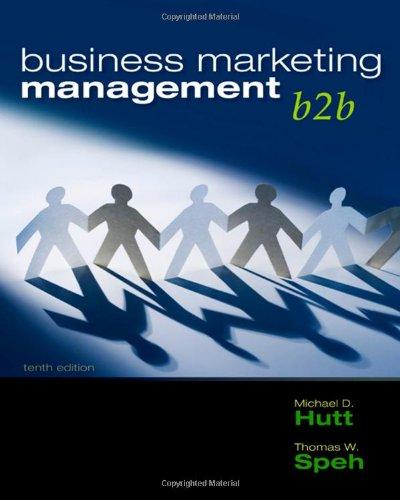 Business Marketing Management: B2B free download
