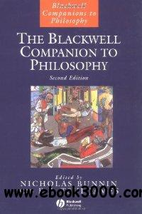 The Blackwell Companion to Philosophy (Blackwell Companions to Philosophy) free download
