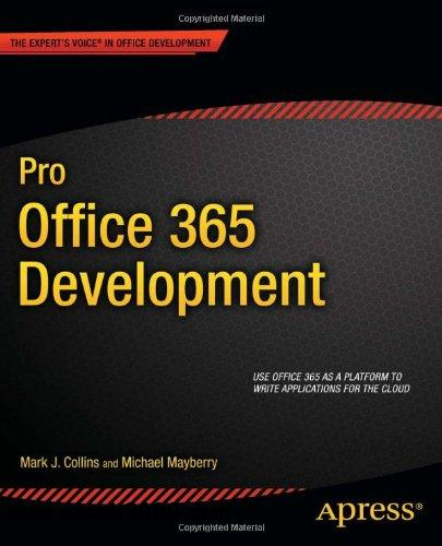 Pro Office 365 Development free download