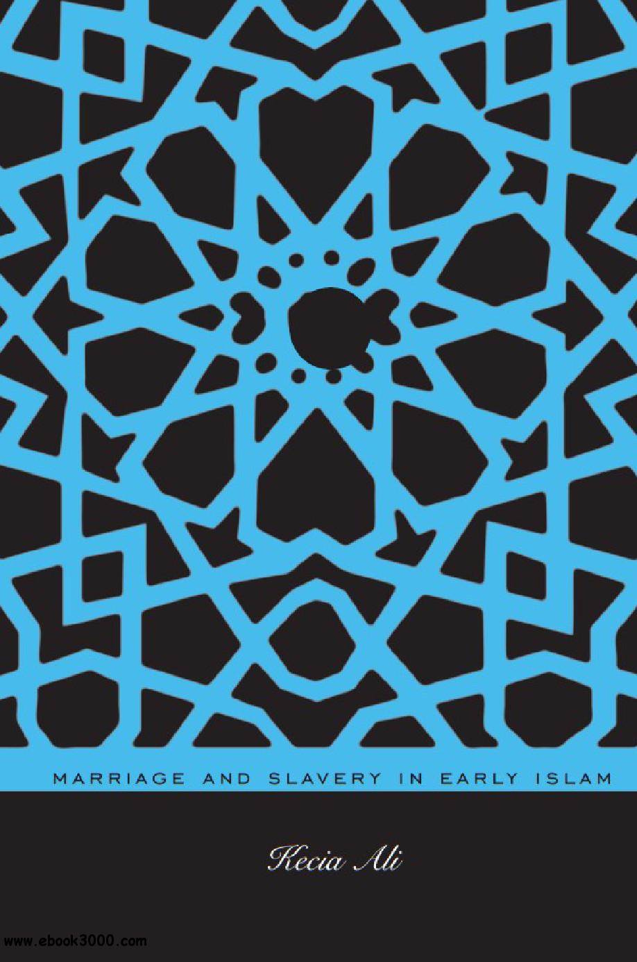 Marriage and Slavery in Early Islam free download