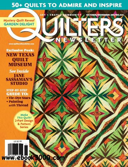 Quilters Newsletter - October/November 2011 free download
