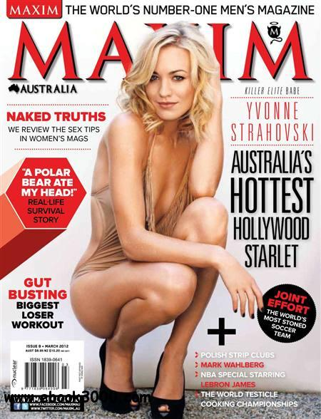 Maxim Australia - March 2012 free download