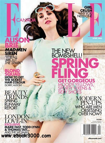 Elle Canada - April 2012 free download