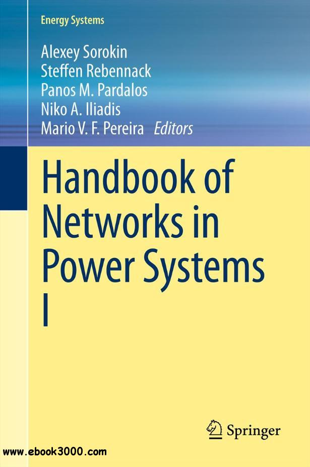 Handbook of Networks in Power Systems I free download