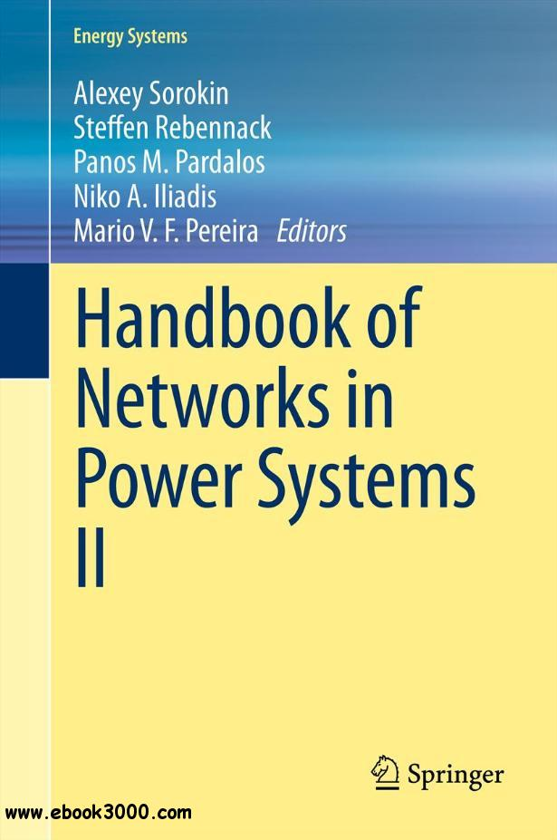 Handbook of Networks in Power Systems II free download