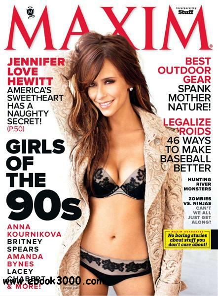 Maxim USA - April 2012 free download