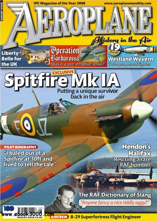 Aeroplane Monthly - August 2008 free download