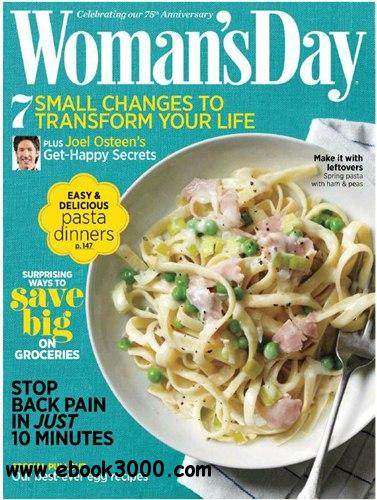 Woman's Day USA - April 2012 free download