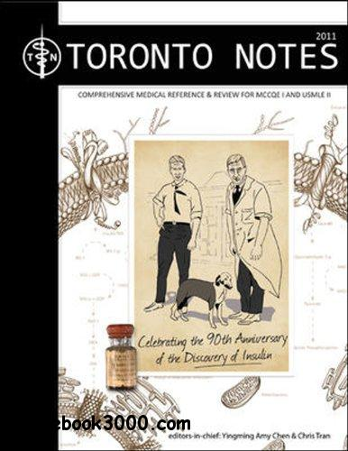The Toronto Notes for Medical Students 2011 free download