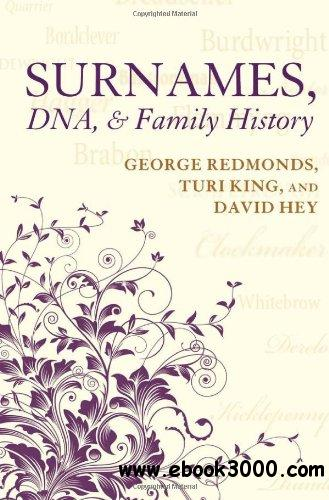 Surnames, DNA, and Family History free download