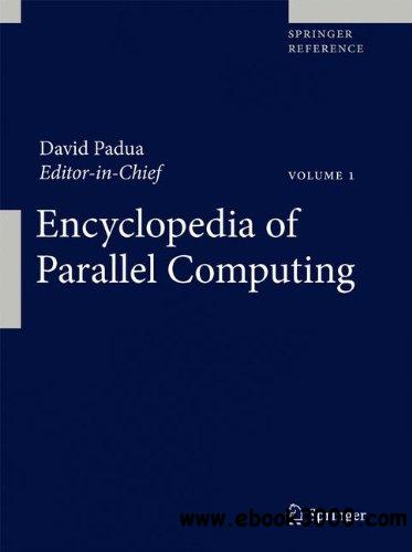 Encyclopedia of Parallel Computing free download