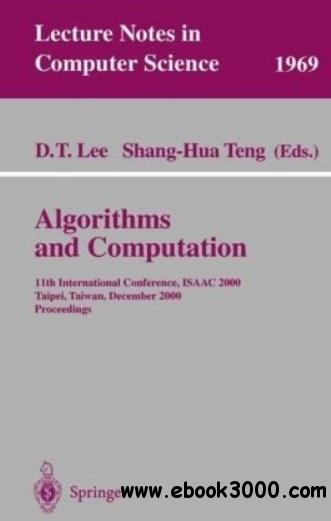 Algorithms and Computation free download