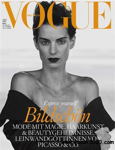 Vogue Germany - April 2012 free download