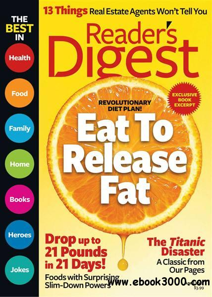 Reader's Digest USA - April 2012 free download