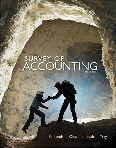 Survey of Accounting, 3 edition free download