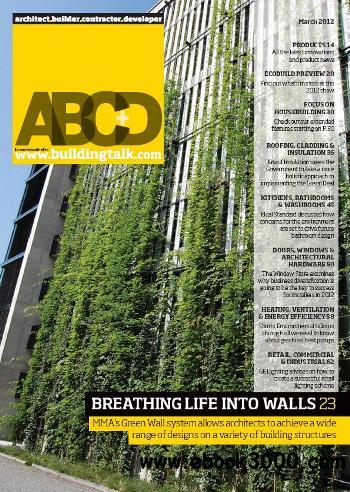 Architect, Builder, Contractor & Developer - March 2012 free download