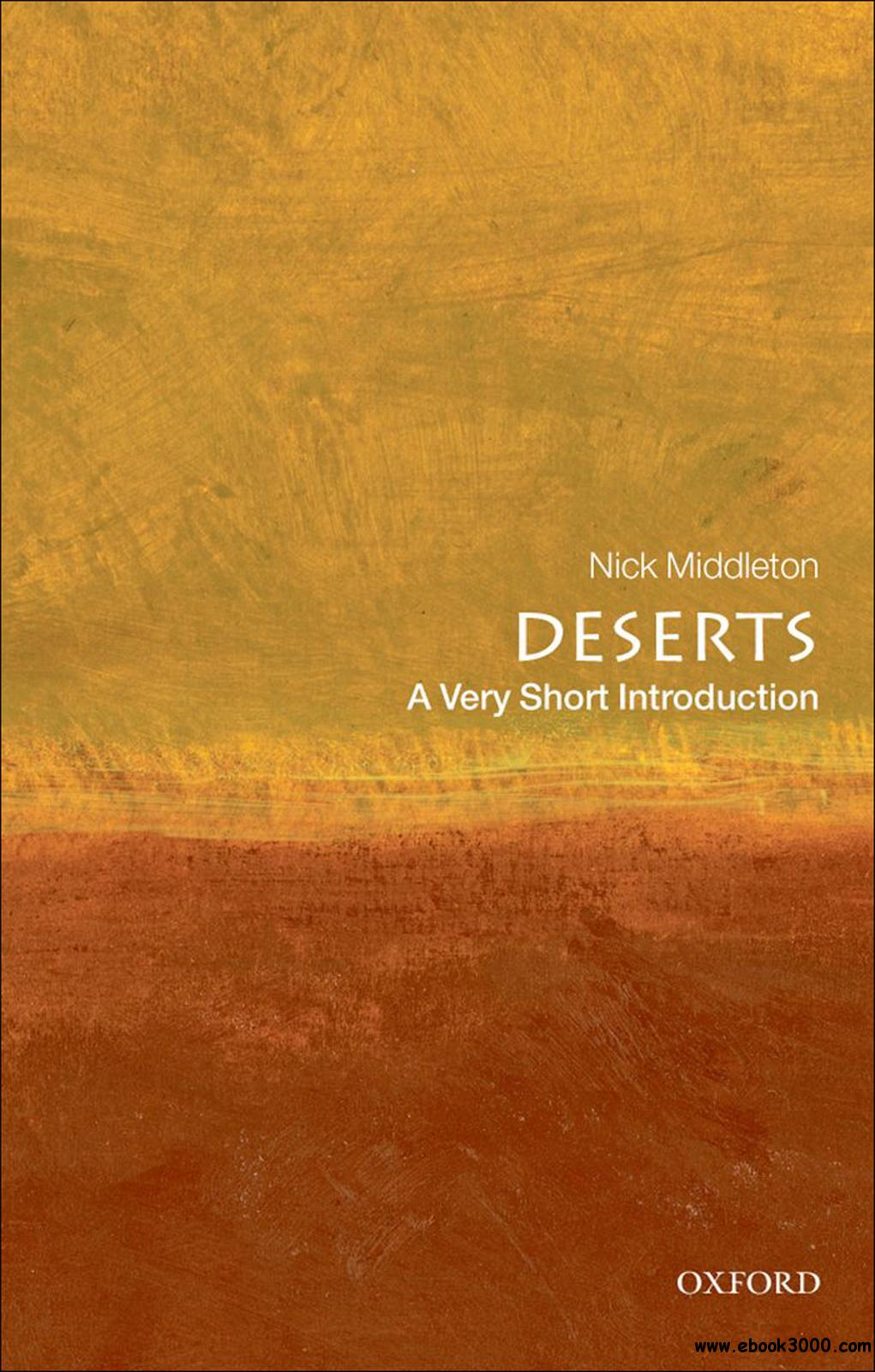 Deserts: A Very Short Introduction free download
