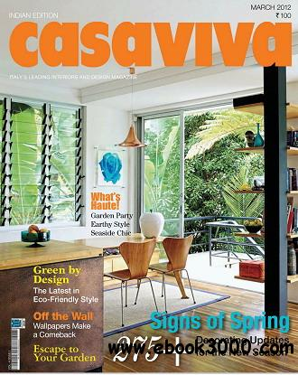 Casaviva India Edition Magazine March 2012 free download