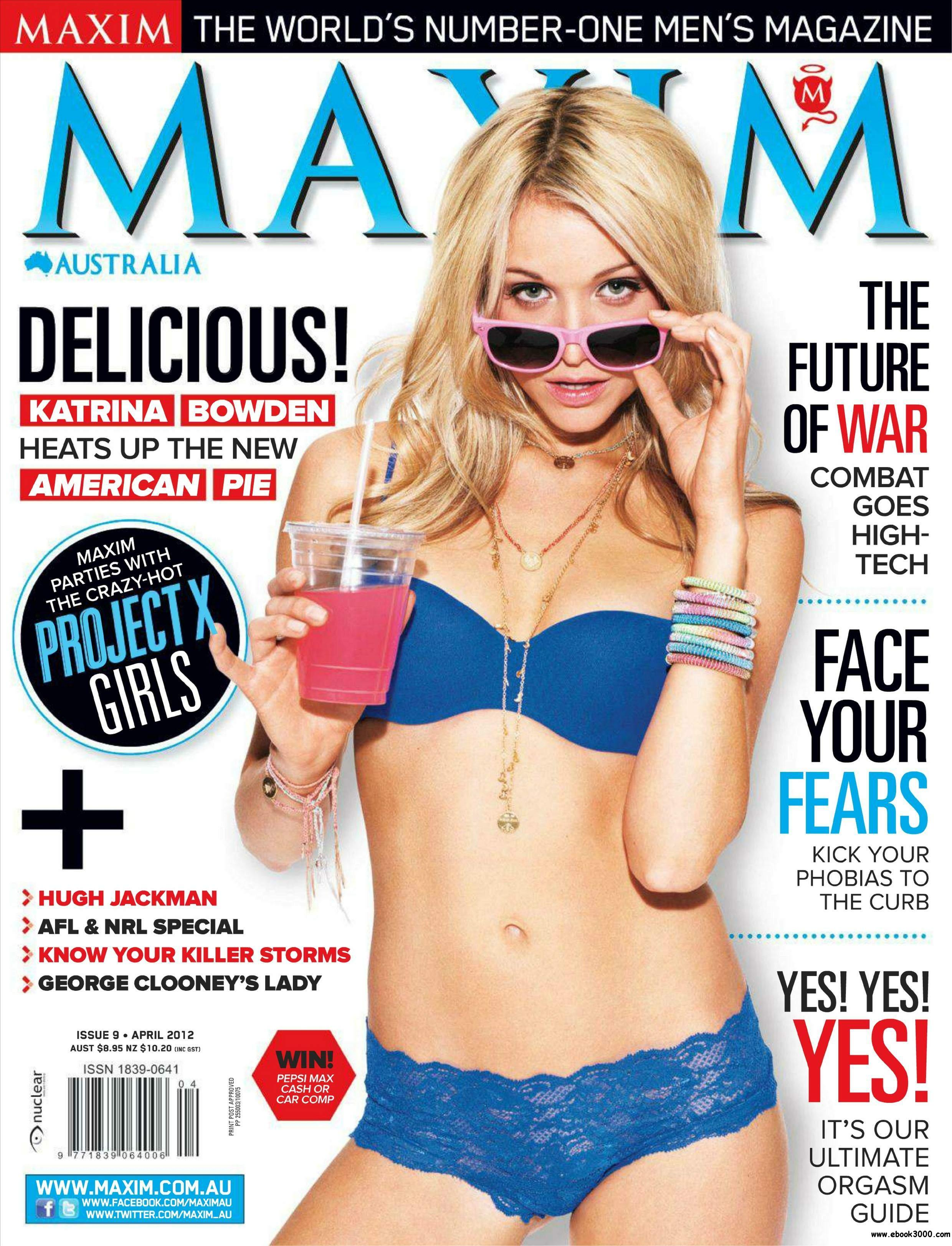 Maxim Australia - April 2012 free download