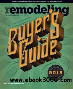 Remodeling Magazine - March 2012 free download