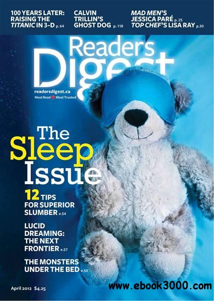 Reader's Digest - April 2012 / Canada free download