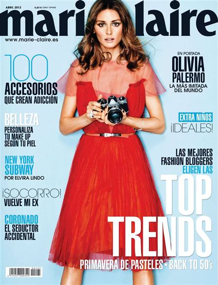 Marie Claire - Abril 2012 / Spain free download