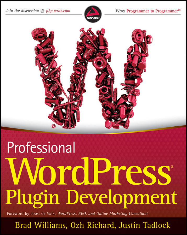 Professional WordPress Plugin Development free download
