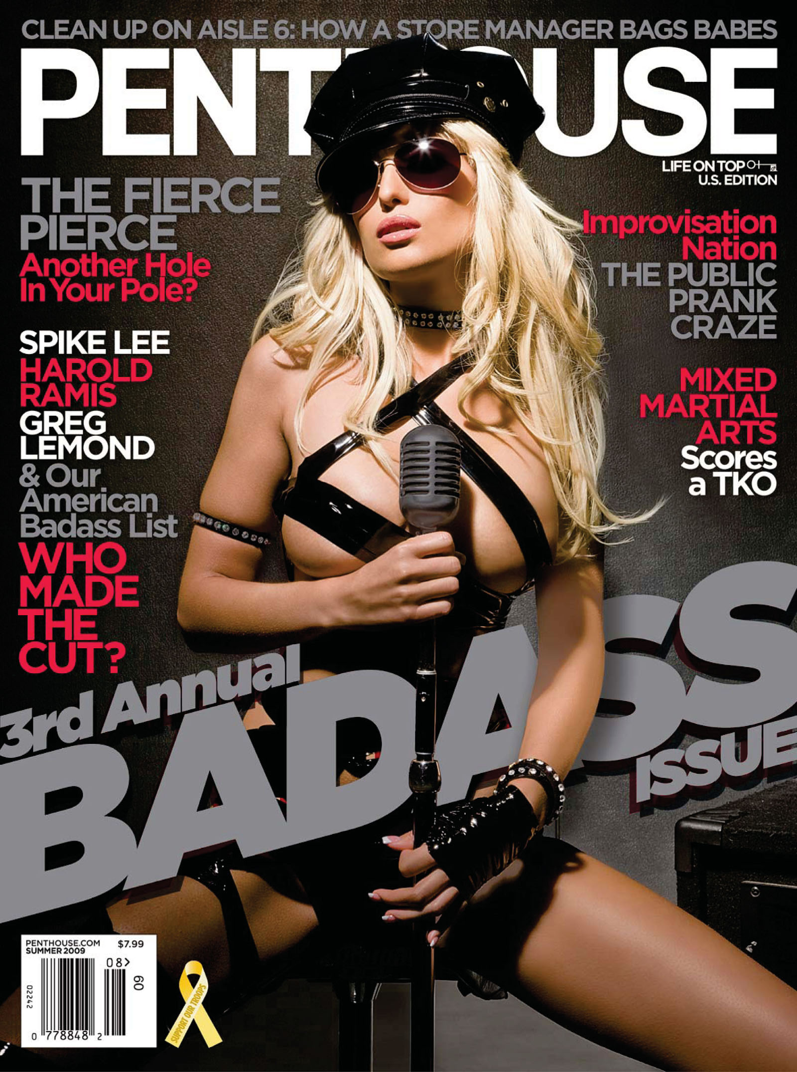 Penthouse USA - July / August 2009 free download