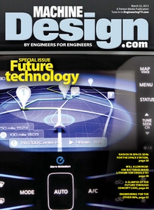 Machine Design - 22 March 2012 free download