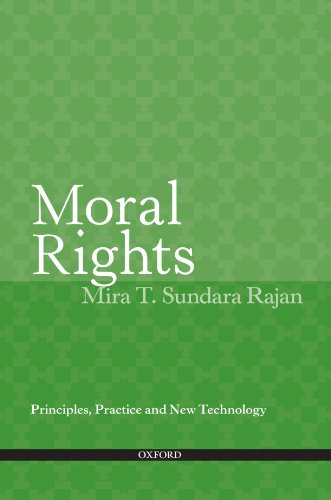 Moral Rights: Principles, Practice and New Technology free download