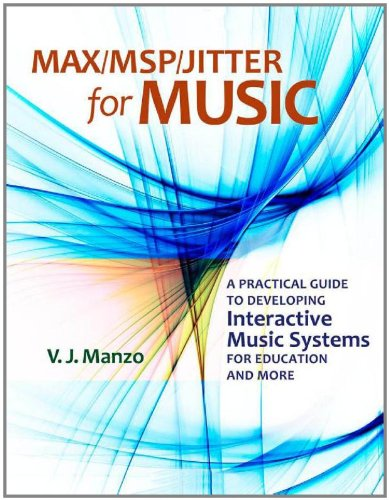 Max/MSP/Jitter for Music: A Practical Guide to Developing Interactive Music Systems for Education and More free download