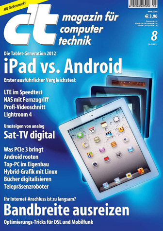 ct Magazin fur Computertechnik No 08 vom 26. Marz 2012 free download
