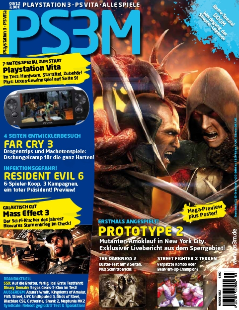 PS3M Das Playstation Magazin Marz No 03 2012 free download