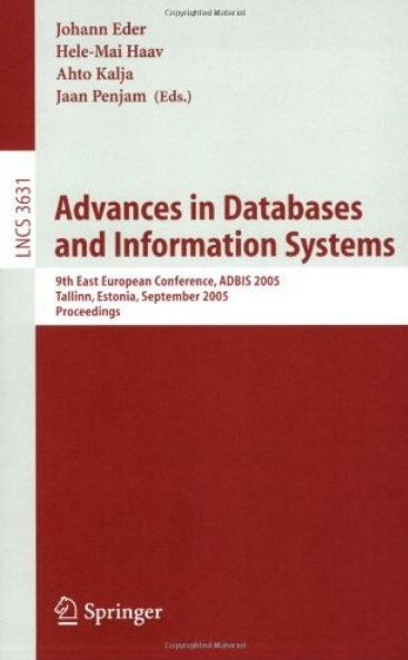 Advances in Databases and Information Systems free download