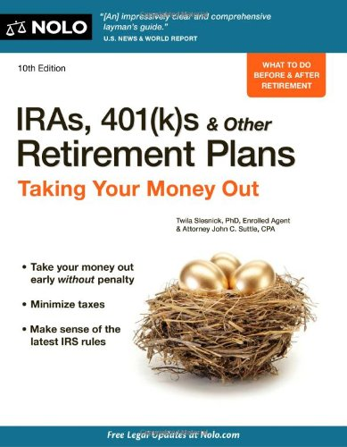 IRAs, 401(k)s & Other Retirement Plans: Taking Your Money Out free download