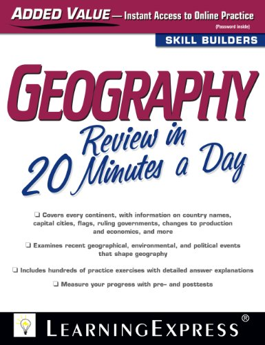 Geography Review in 20 Minutes a Day free download