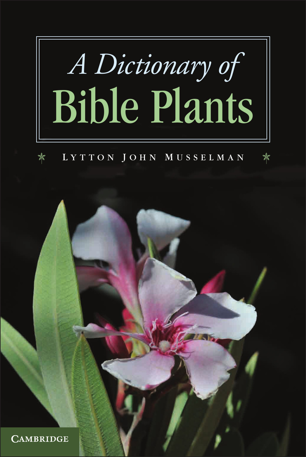 A Dictionary of Bible Plants free download