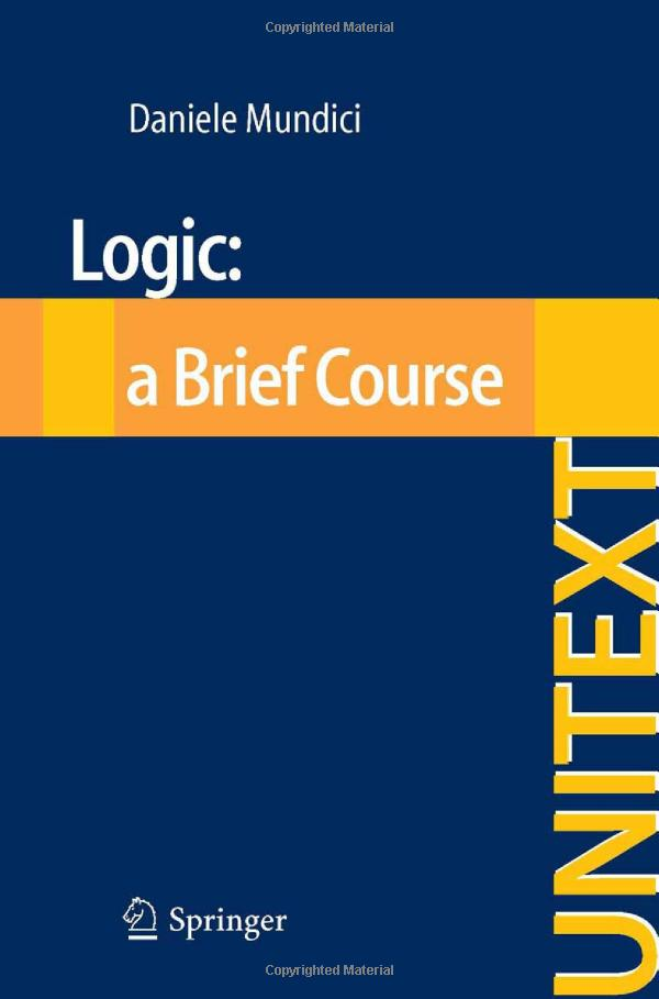 Logic: a Brief Course free download