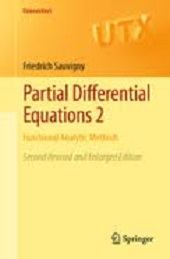 Partial Differential Equations 2: Functional Analytic Methods free download