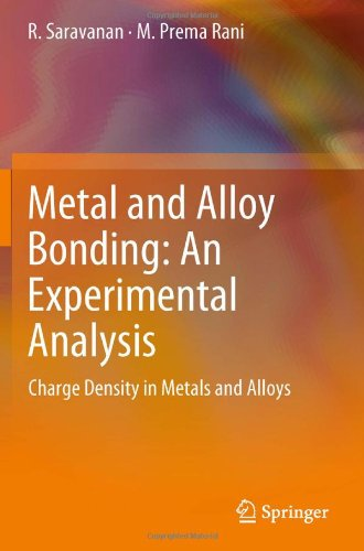 Metal and Alloy Bonding: An Experimental Analysis. Charge Density in Metals and Alloys free download