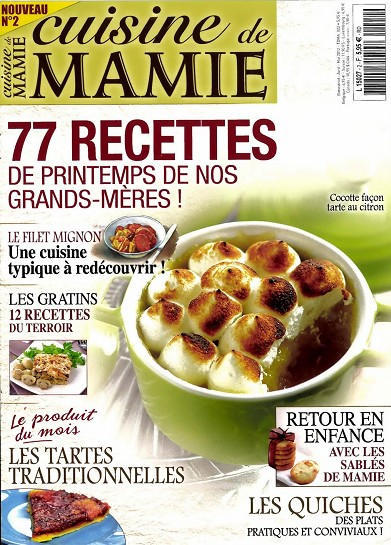 Cuisine de Mamie N 2 - Avril/Mai 2012 free download