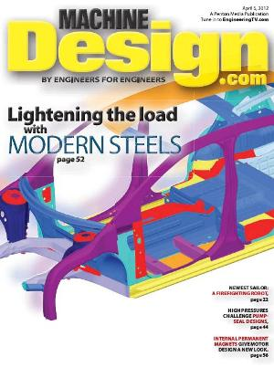 Machine Design - 5 April 2012 free download