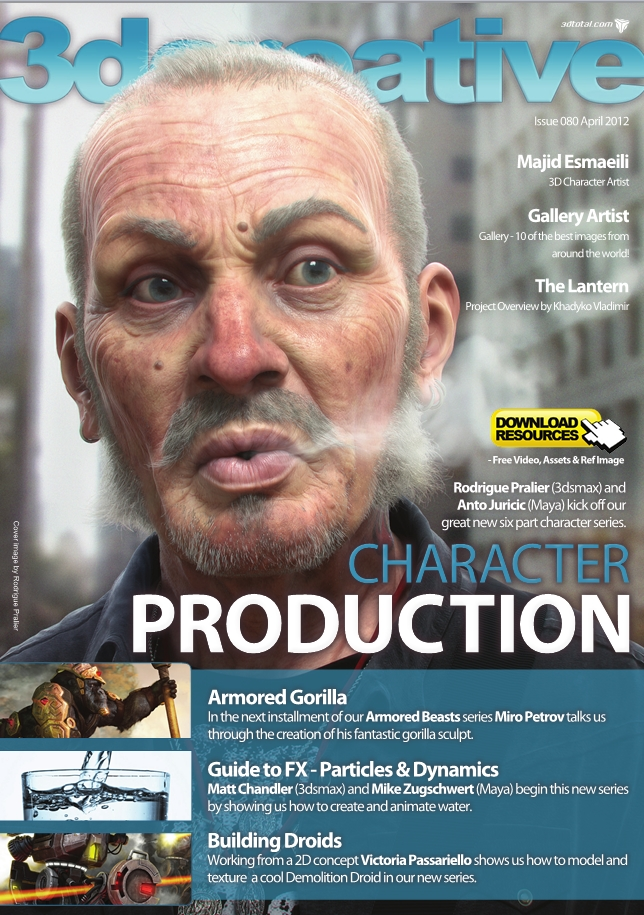 3Dcreative Issue 80 April 2012 free download