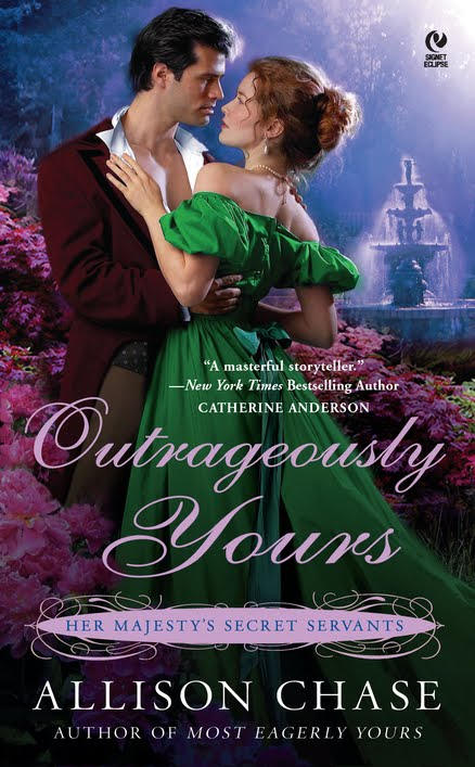 Outrageously Yours: Her Majesty's Secret Servants #2 by Allison Chase free download